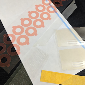 Surface protection die-cut examples