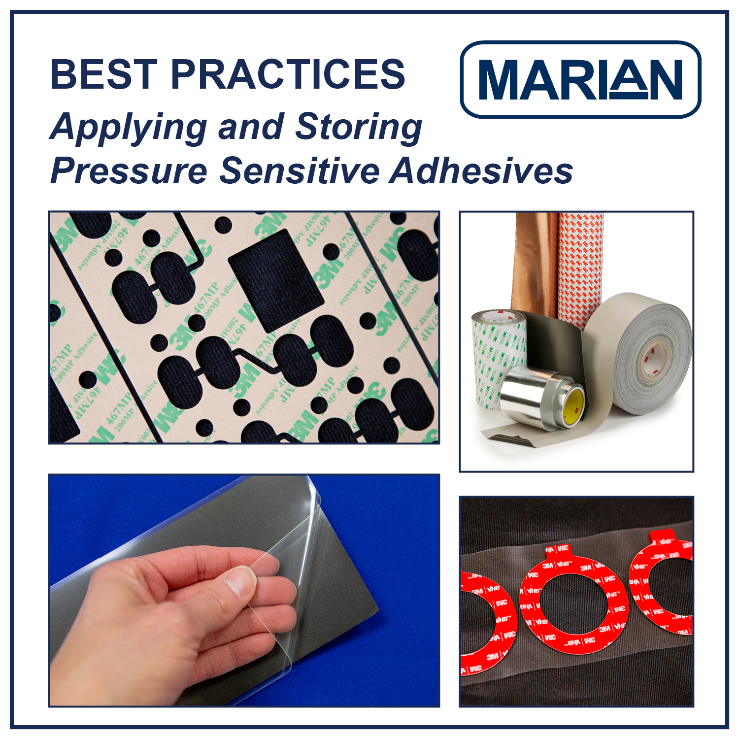 Best Practices when Applying and Storing PSA Tape