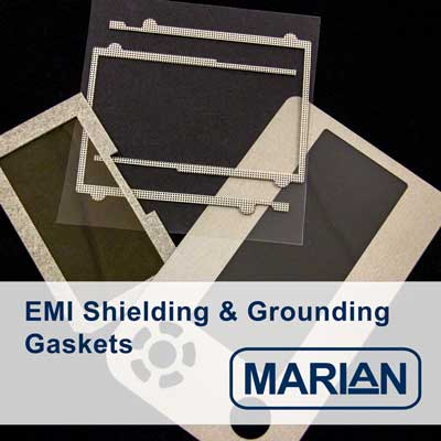 Common Materials for EMI Shielding Gaskets and Ground Paths