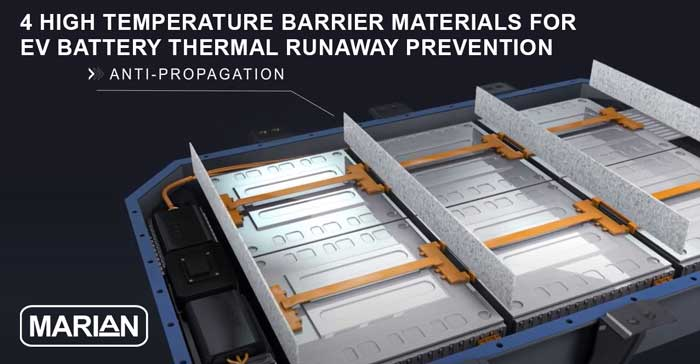 4 High Performance Thermal Barrier Materials for EV Battery